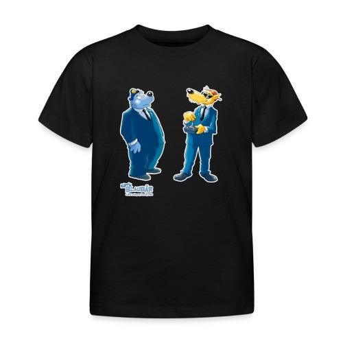 Käpt'n Blaubär Und Hein Blöd Agenten - Kinder T-Shirt