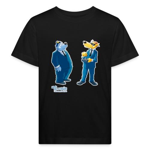 Käpt'n Blaubär Und Hein Blöd Agenten - Kinder Bio-T-Shirt
