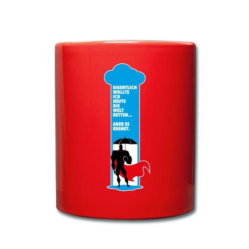 Büroheld - Tasse - Tasse einfarbig