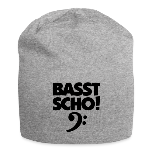 Basst Scho Bass Mütze - Jersey-Beanie