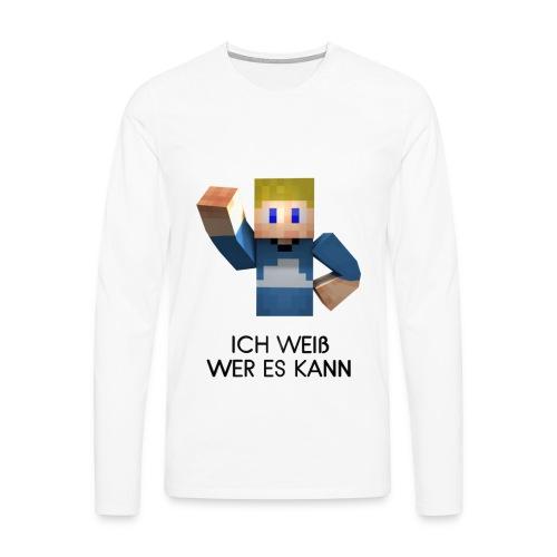 MauriDE/EU-Shirt langärmlich - Männer Premium Langarmshirt