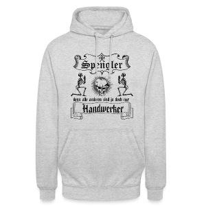 alle anderen sind doch nur Handwerker Pullover & Hoodies - Unisex Hoodie