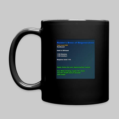 MMO Mug: Raider's Brew of Regeneration Multicolour - Full Colour Mug