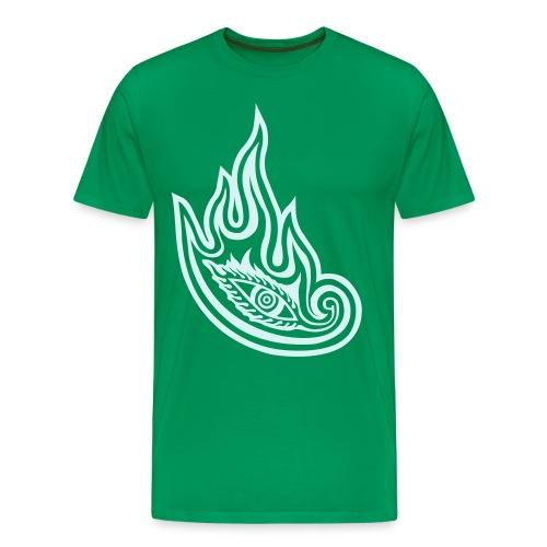 Vicarious Fit -Stampa riflettente - Maglietta Premium da uomo