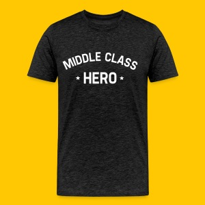 Middle Class Hero - Men's Premium T-Shirt