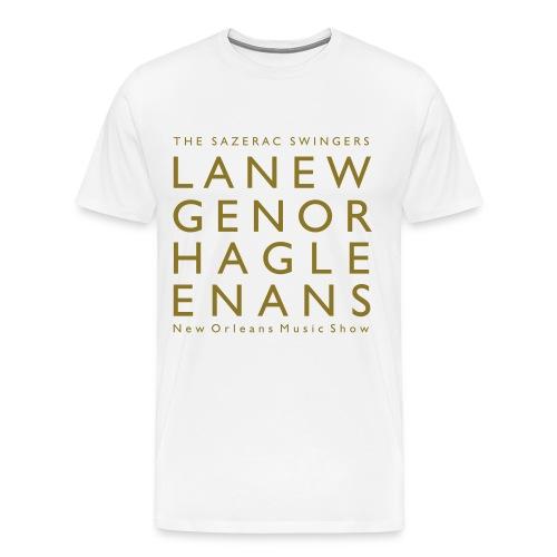 Langenhagen Jazz Frühschoppen - Männer Premium T-Shirt