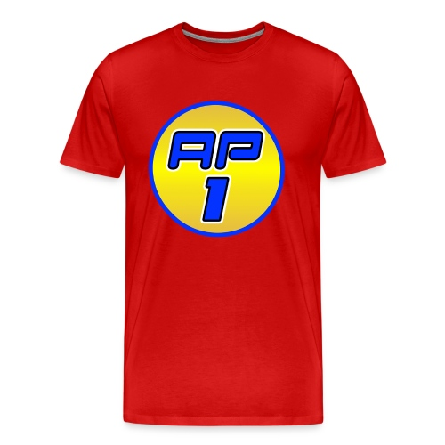 AP1 Men's Premium T Shirt : red - Men's Premium T-Shirt