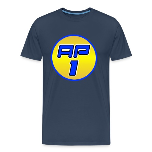 AP1 Men's Premium T Shirt : navy - Men's Premium T-Shirt