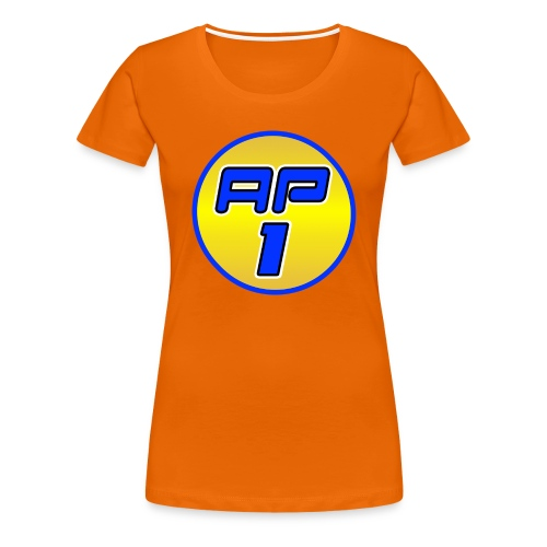 AP1 Women's Premium T Shirt : orange - Women's Premium T-Shirt