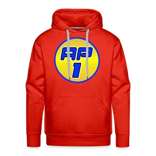 AP1 Men's Premium Hoodie : red - Men's Premium Hoodie