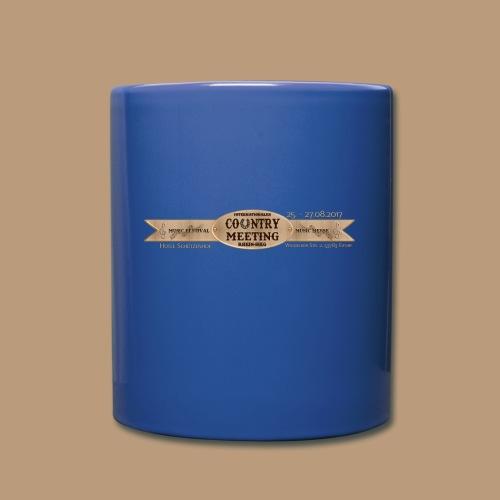 Kaffeetasse Blau - Tasse einfarbig