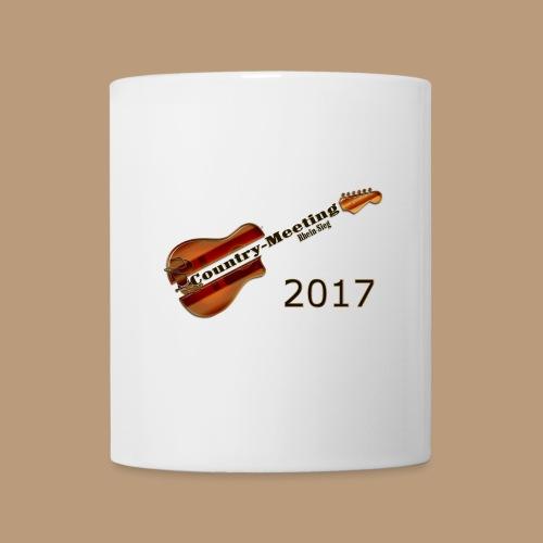 Kaffeetasse Weiß Gitarre - Tasse