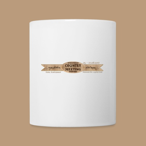 Kaffeetasse Weiß - Tasse