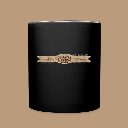 Kaffeetasse Schwarz - Tasse einfarbig