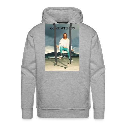 Sweat Jesus Skate - Sweat-shirt à capuche Premium pour hommes