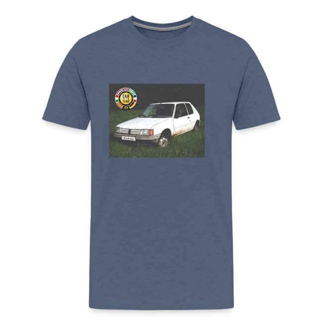 T-shirt 205 car of the year