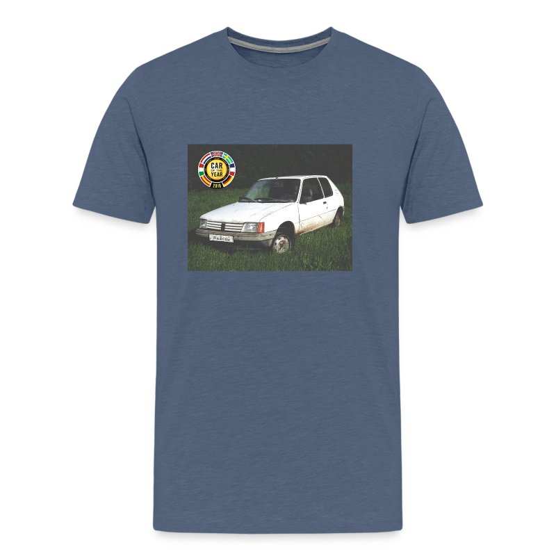 T-shirt 205 car of the year - T-shirt Premium Homme