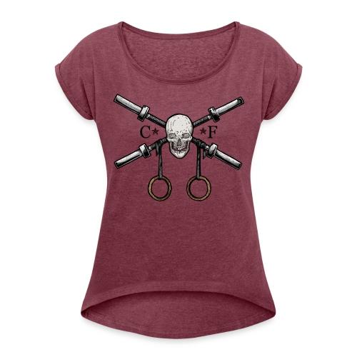 Crossfit Lifter t-shirt - T-shirt à manches retroussées Femme