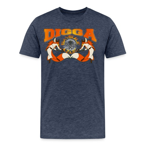 DIGGA FUCHS - Männer Premium T-Shirt