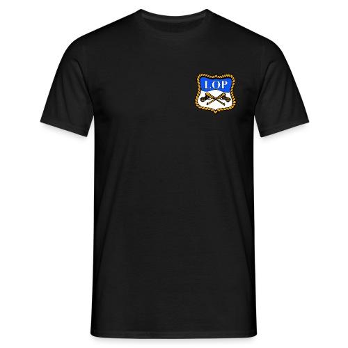 Sort T-Skjorte med logo - T-skjorte for menn