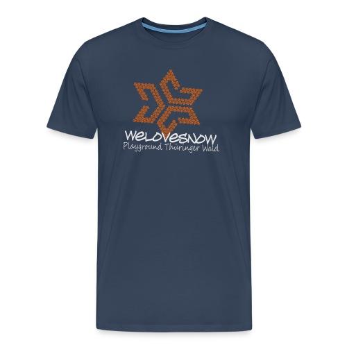 Welovesnow Playground Pixel Tee  - Männer Premium T-Shirt