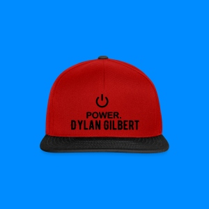 Official Dylan Gilbert Snapback Cap (Red & Black) - Snapback Cap