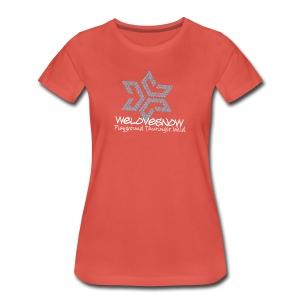 Welovesnow Playground Pixel Tee Woman - Frauen Premium T-Shirt