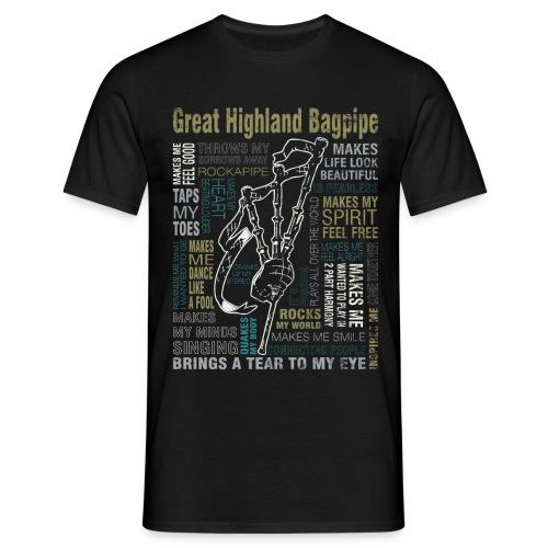 Pipe my life´g - Männer T-Shirt