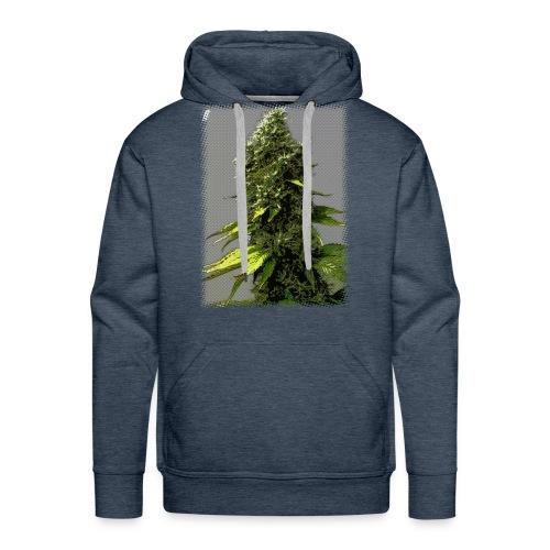 cartoon weed bud hoodie - Men's Premium Hoodie