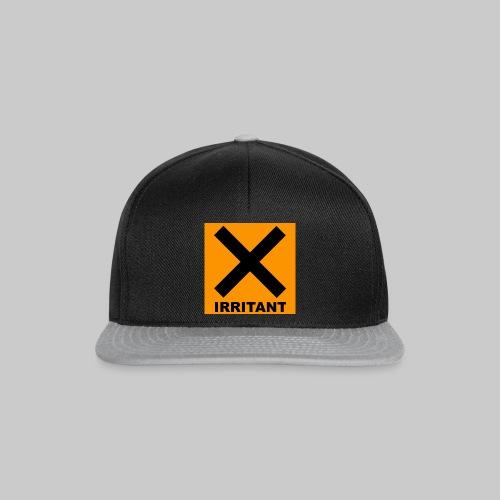 Irritant Warning Hat Unisex - Snapback Cap