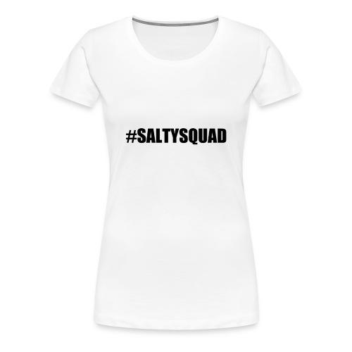 Serious Squirrel Salty Squad Female White - Women's Premium T-Shirt