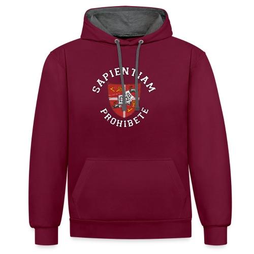 Sapientiam Prohibete Hoodies & Sweatshirts - Contrast Colour Hoodie