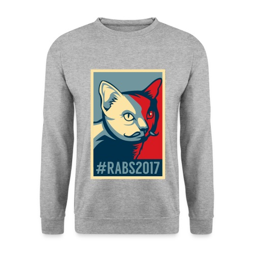 Pull H/Gris #RABS2017  - Sweat-shirt Homme