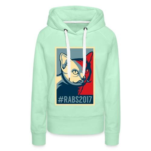 Sweat capuche/F/Menthe #RABS2017  - Sweat-shirt à capuche Premium pour femmes