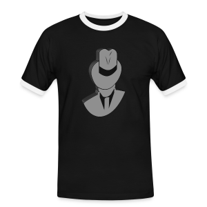 iP.man T-Shirt - Männer Kontrast-T-Shirt