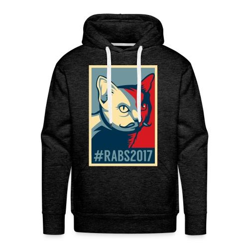Sweat capuche/H/charbon #RABS2017  - Sweat-shirt à capuche Premium pour hommes