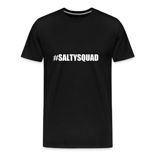 Serious Squirrel Salty Squad Male Black - Men's Premium T-Shirt