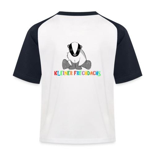 T-Shirt Kleiner Frechdachs - Kinder Baseball T-Shirt