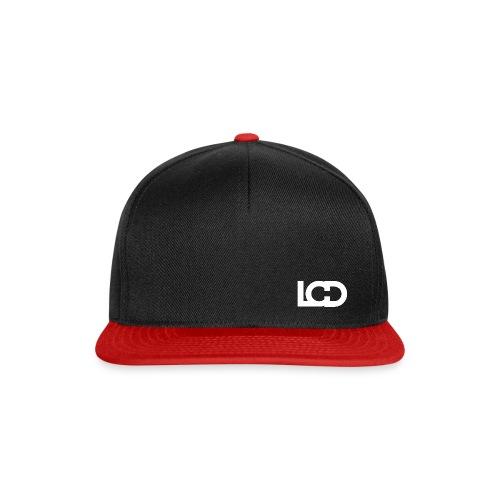 LUCID SNAPBACK No.1 BLACK & RED - Snapback Cap