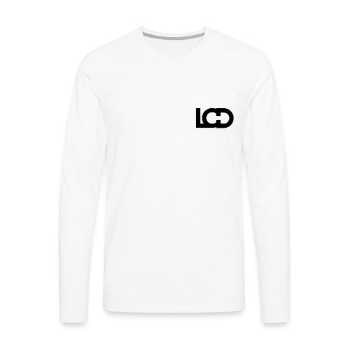 LUCID CORNER SHIRT No.1 WHITE - Men's Premium Longsleeve Shirt