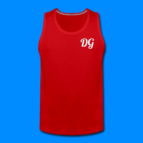 Official Dylan Gilbert Tank Top (Red) - Men's Premium Tank Top