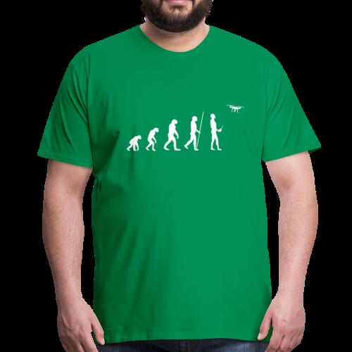 Evolution Drohne   T-Shirt für Männer - Männer Premium T-Shirt