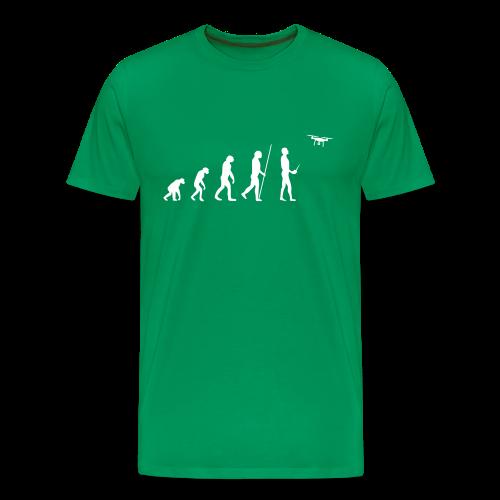 Evolution Drohne - T-Shirt für Männer - Männer Premium T-Shirt