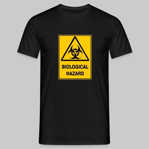 Men's Biohazard Warning Tee Multicolour - Men's T-Shirt
