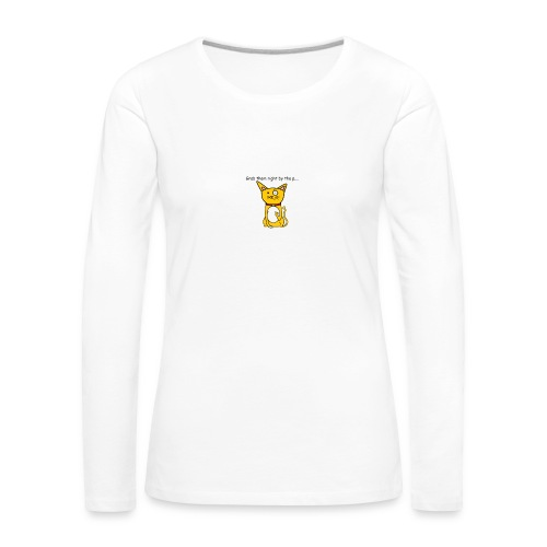Grab them right by the p.... - Women's Premium Longsleeve Shirt