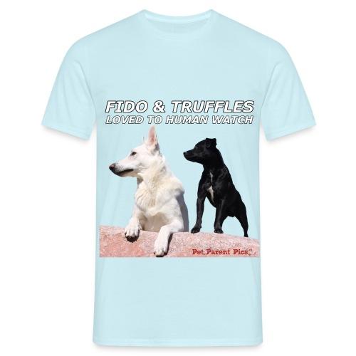 Fido & Truffles – Men's T-Shirt - Men's T-Shirt