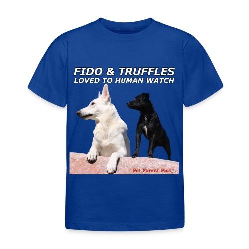 Fido & Truffles – Kid's T-Shirt - Kids' T-Shirt