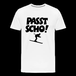 Passt Scho Skifahrer S-5XL T-Shirt - Männer Premium T-Shirt