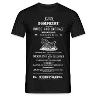 T-Shirts ~ Men's T-Shirt ~ Tomkins Horse Repository, Reading (Front)