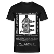 T-Shirts ~ Men's T-Shirt ~ Lewis Photographer, Reading (Front)